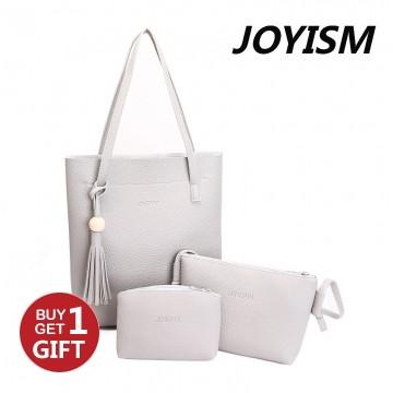 Joyism 3 Colors Classic Fashion Women  Shoulder Handbag. Vintga Crossbody Bags gray f