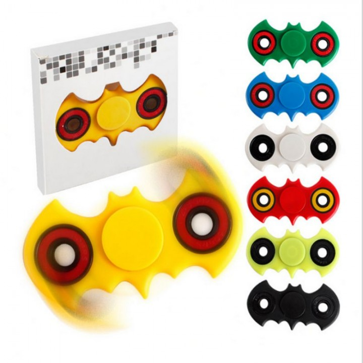 Hand Spinner Batman Style Fidget White Normal