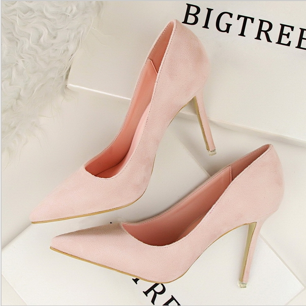 86ce2a2661ad Elegant Women Pumps High Heels Pointed Toe Sexy Women Shoes For Lady High  Heel Office Shoes 05 5  Product No  112795. Item specifics  Brand