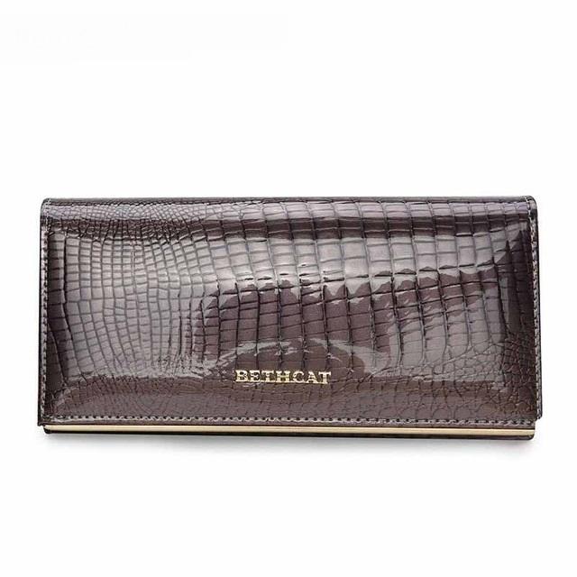 22d94f249ae Hoge Kwaliteit Lederen Portemonnee Vrouwelijke Hasp Fashion Alligator Lange  Vrouwen Portefeuilles gray #01: Product No: 131779. Item specifics: Brand: