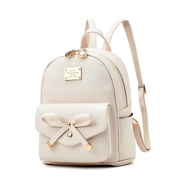 55c04c7264c Vrouwen Rugzak PU Leer Dame Backbags Schooltassen Voor Tiener Meisjes  backpack beige #01: Product No: 146839. Item specifics: Brand: