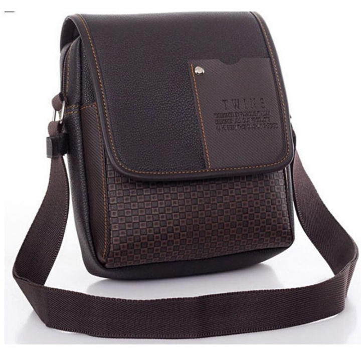 028f9ade610 PU Leer Mannen Tas Mode Mannen Messenger Bag kleine Business crossbody  schoudertassen black #01