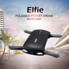 Mini Drone Toy JJRC H37 Altitude Hold W/HD Camera WIFI FPV Selfie Foldable Headless RC Quadcopter black H37