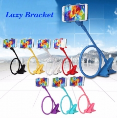 Lazy Phone Holder Bed Desktop Mount 360 Flexible Arm Mobile Phone Holder Stand Support Pop Socket Red PH458 99