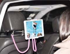 Lazy Bracket Universal 360° Rotation Flexible Phone Selfie Holder Neck Bed Mount Anti-skid For Phone Pink PH460 99