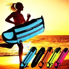 Women Men Sports Running Waterproof Waist Belt Bag Wallet Pouch Purse Phone Case Cover For iPhone Light Blue PH416 99