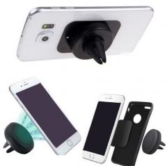 Car Holder Air Vent Mount Magnet Magnetic  Mobile Cell Phone Holder GPS Bracket Stand Support Black PH313 99
