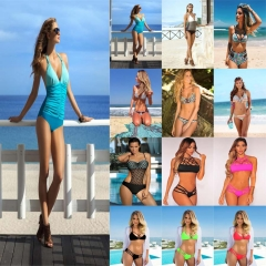 Female Bikini Swimwear Women Swimsuit Bathing Suit Bikini Set Push Up Beachwear 1#-S S-M-L