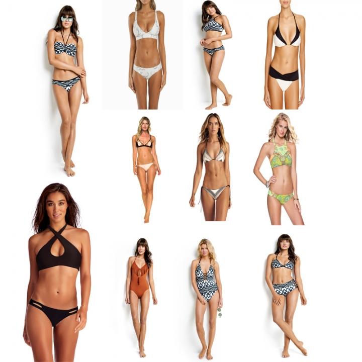 ec935e5b84 Women Sexy Bikini Set Push-Up Padded Swimwear Swimsuit Bathing Beachwear  1#-S