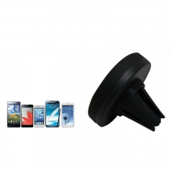 ABS Plastic Universal Air Outlet Phone Holder for Cellphones black for phone PH313 99