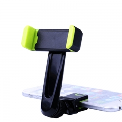 Universal ABS Plastic Silicon Aluminum Alloy Car Outlet Mobile Phone Holder green for phone PH318 99