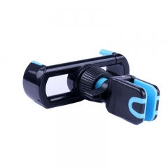 ABS Plastic Silicon Universal Air Outlet Phone Holder Support Most Brand Phones blue for phone PH320 99