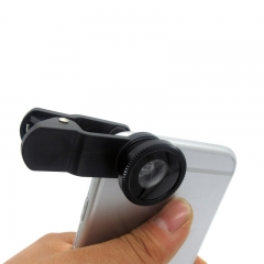Super Wide Angle Fisheye Lens Mobile Phone Self-timer External Camera black for phone PH100B 99