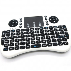 2.4GHz Wireless Handheld Qwerty Keyboard Touchpad Mouse for Smart TV Box/HTPC white for Smart TV Box/HTP PH090A 99