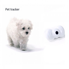 Mini Bow Tie Video GSM/GPRS Locator Real Time Tracker for Pets Tracking Remote Monitoring Tracker white for Pets PH056A 99