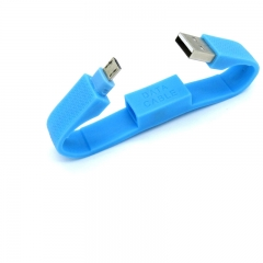 Folding Keychain Style Charging Cable for HTC/Samsung/Motorola/Toshiba/Panasonic blue for phone PH042BL 99