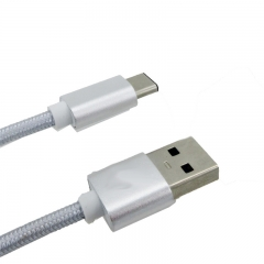 USB 3.1 Type C To USB 3.0 A Male Cable for Phone silver for phone PH030 99
