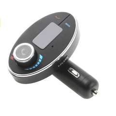 Hands-free Wireless Bluetooth LCD MP3 Audio Player Car Kit SD Charger FM Transmitter Modulator black for phone PH283 99