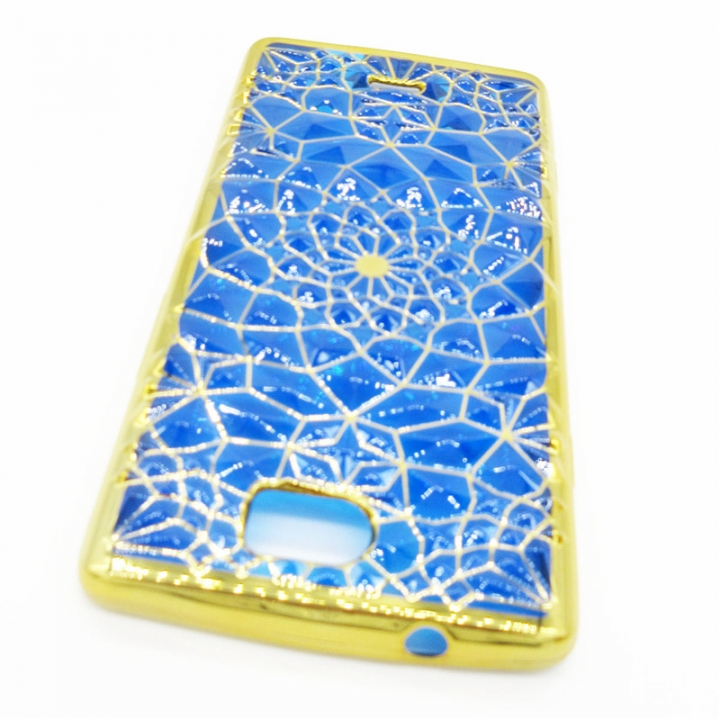 Silicone Case for Tecno C8 Mobile Phone Shell Back Cover blue for Tecno C8