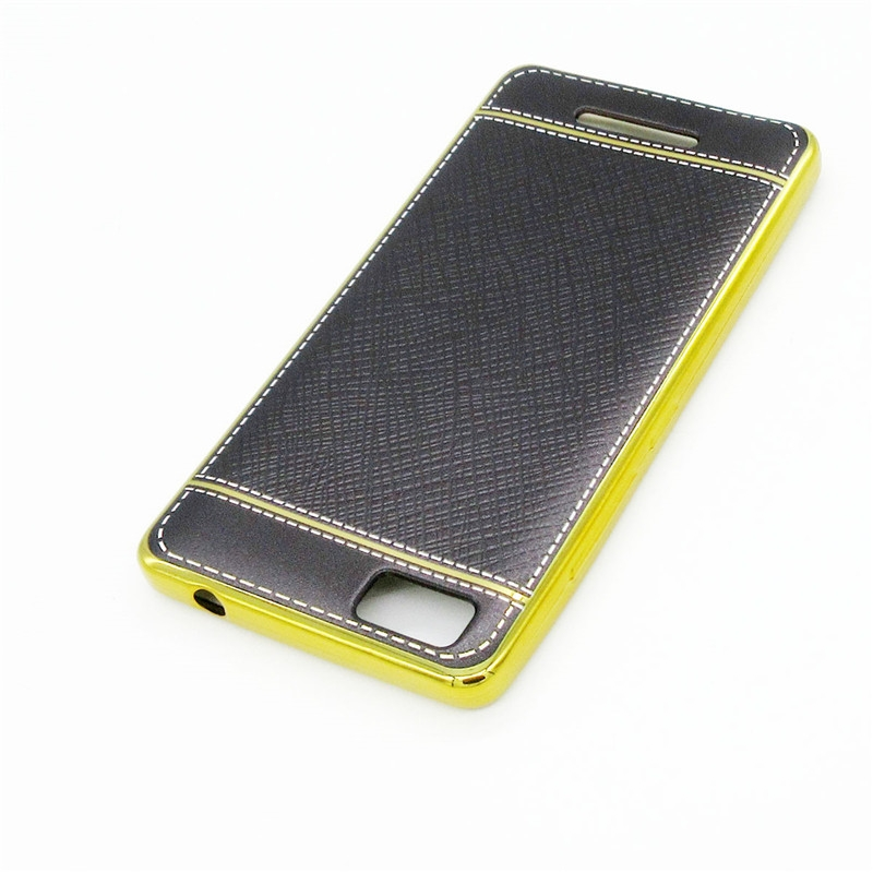 For Tecno W3 Mobile Phone Shell Back Cover black for Tecno W3