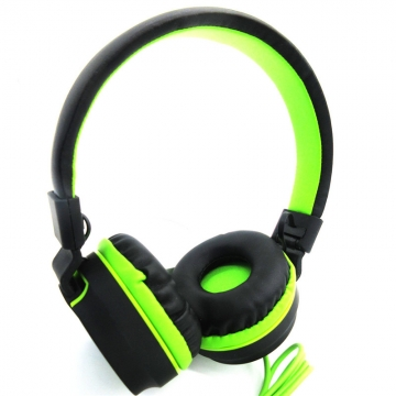 Adjustable Stereo Gaming Headphones with Microphone Matte Finish for Mobile Phone & PC Gamer green
