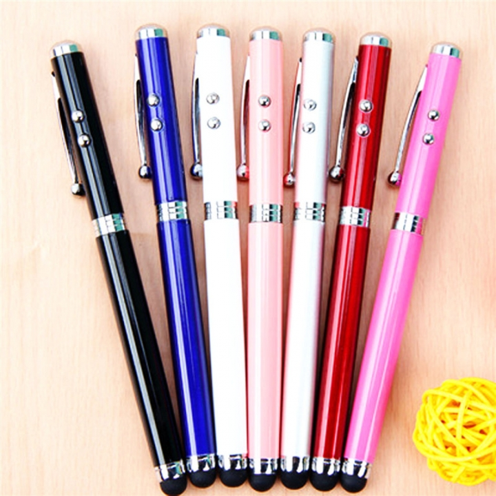 Metal Alloy Multifunction Electronic Laser Capacitive Stylus for Phones