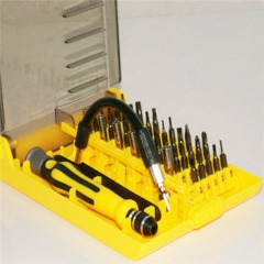 45# Steel Screwdriver Set for Electronic Devices & Household appliances random color for Phones PH338 99
