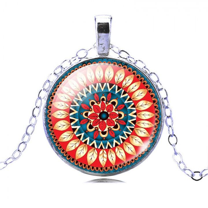 Women's Pendant Necklace blue one size