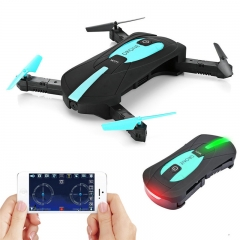 WiFi FPV Quadcopter Mini Foldable Selfie Drone RC Drones with 2MP Camera HD FPV Professional Green one size