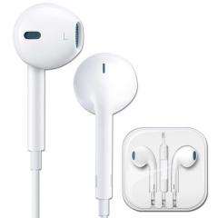 2017 Earphone Headphones With Microphone 3.5mm Jack Bass Headset Sport Headphones White Color blue mes