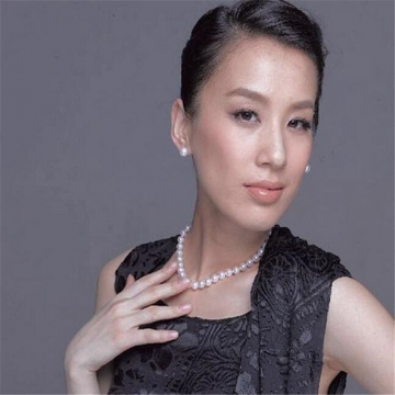 New Fashion 8MM Simulated Pearls Necklaces for Women white one size