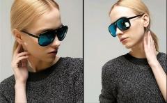 Sunglasses Men Lady Sunglasses Fashion lovers Sunglasses Ice Blue 4125