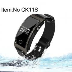 Smart Heart Rate Monitor Blood Pressure Wrist Watch Intelligent Bracelet Wristband Fitness Tracker black