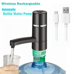 Automatic Wireless Rechargeable Electric  Bottle Water Pump Drinking Pure Water Dispenser as shown one size
