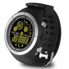 EX32 Bluetooth 4.0 Smart Watch Waterpoof Sport Wristwatch Call SMS Alert Stopwatch Activity Tracker black