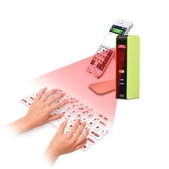 Wireless Bluetooth Laser Virtual Projection Keyboard+Touchpad Mouse KB320 white one size one size one size