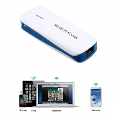 5 in 1 Mini Portable 150Mbps 3G WIFI Mobile Wireless Router Hotspot AU4 as shown