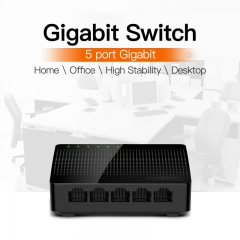 SG105 Mini 5-Port Desktop Gigabit Switch / Fast Ethernet Network Switch LAN Hub/ as shown
