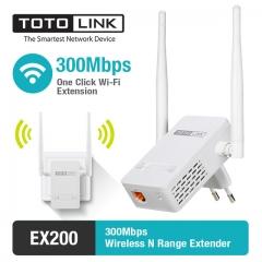 EX300V2 300Mbps Wireless N Easy Setup Range Extender, Wireless Repeater