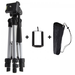 Portable Professional Camera Tripod With Phone Holder High Quality Universal Tripod