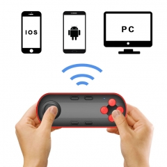 Wireless Gamepad Controller Game Console Remote Control Shutter for IPhone 4 5s 5C SE 6 6s 7 7 Plus white