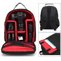 P1 Waterproof Digital DSLR Photo Padded Backpack w/ Rain Cover Multi-functional SLR Camera Soft Bag