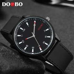 DOOBO Mens Watches Silicon Strap Clock Creative Watch Men Sport Quartz-Watch white
