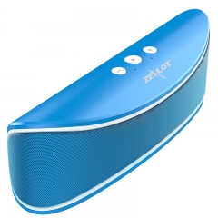 Zealot S2 Hifi Portable Bluetooth 4.0 Wireless Speaker Support TF card/USB Drive Car Party Speaker blue one size one size