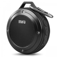 MIFA F10 Outdoor Wireless Bluetooth 4.0 Stereo Portable Speaker Built-in mic black one size one size