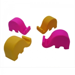 2Pcs Universal Elephant Plastic Smart Phone Stand/Holder Random Color Random 62*27*40mm 1000