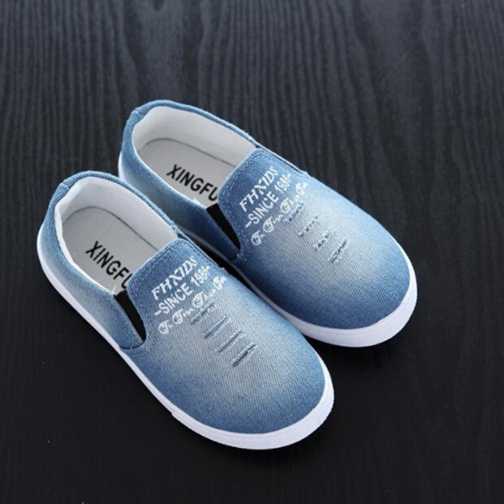 Children Shoes Boys Girls Canvas Casual