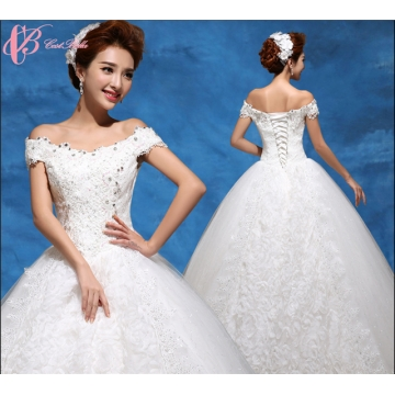 2017 New High Quality Lace Woman Wedding Dresses Turkey Ball Gown ...