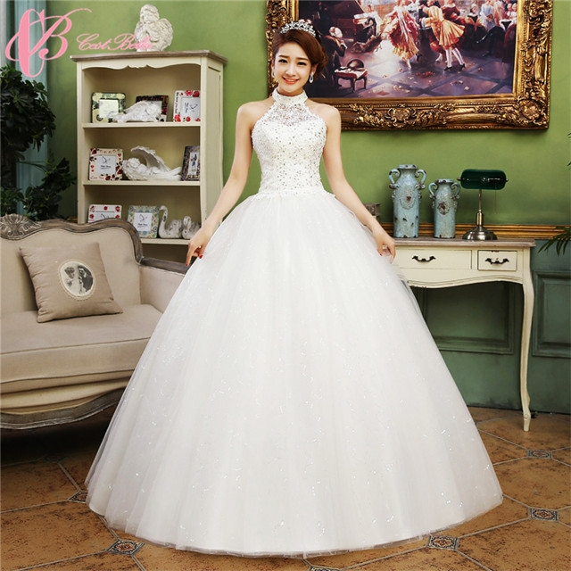 2017 New Style Fashionable Slim Fit Ball Gown Princess Wedding Dress ...