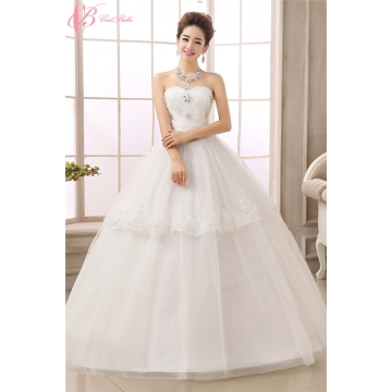 White Bridal New Design Off-shoulder Ball Gown Princess Wedding ...